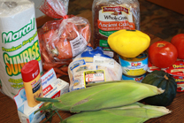 NEW - donate food $30 retail purchase 2012