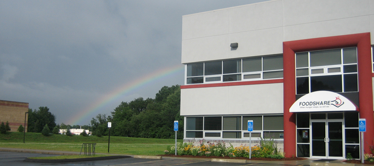 NEW - 2011 Building Foodshare rainbow
