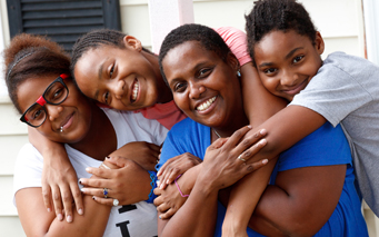 NEW - family happy 2012 stock
