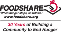 30th Anniversary Foodshare Logo